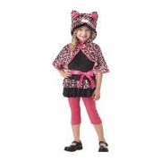 California Costumes Cutesy Kitty Toddler Costume, 3-4