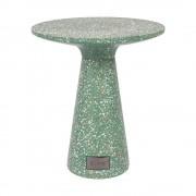 Zuiver Zelený odkládací stolek vhodný do exteriéru Zuiver Victoria, ø 41 cm