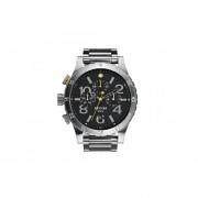 Reloj Nixon A486000 - Plateado - Negro