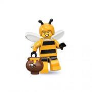 Lego Series 10 Bumblebee Girl Mini Figure (Yellow)
