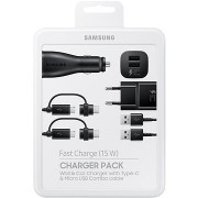Samsung Charger Pack fekete