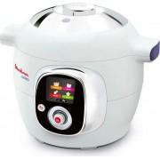 Moulinex Ce706121 Multicooker Pentola Elettrica Capacità 6 Litri Potenza 1200 Watt Timer 6 Modalità Di Cottura 100 Ricette Pre-Programmate - Ce706121 Cookeo It Ce706