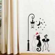 Samolepka na stenu - Mačky (AL)