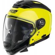 Nolan N70-2 GT Hi-Visibility N-Com Helmet Yellow XL