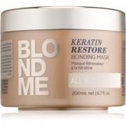 Schwarzkopf Professional Blondme erneuernde Maske für alle Blondtöne 200 ml