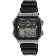 Casio Youth Digital Digital Black Dial Mens Watch - AE-1300WH-8AVDF (D109)