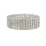 Your Ideal Gift £7.99 instead of £79 for a five row tennis bracelet from Your Ideal Gift - save 90%