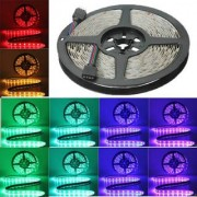 Comes with adhesive tape RGB Remote Control LED Strip Light Colour Changing for Diwali and Christmas Lighting (Multicolour)