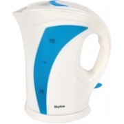 Skyline VTL-7015 Electric Kettle(1.7 L, WHITE AND BLUE)