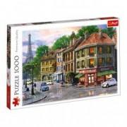 Puzzle Trefl Landscape oras Paris peisaj 100 piese
