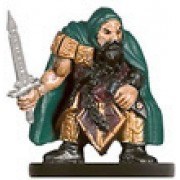D & D Minis: Dwarf Warsword # 17 - Against the Giants