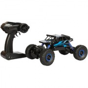 Planet of Toys Dirt Drift 118 Rock Crawler 2.4 Ghz Remote Control Car 4 Wheel Drive Off Road RC Monster Truck For Kids Children