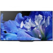 Televizor OLED Sony KD65AF8 Android, Triluminos, 164 cm, HDR 4K X1™, Acoustic Surface™, Clasa energetica B, Negru