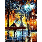 KXCFCYS New arrival DIY Oil Painting by Numbers Kit Theme PBN Kit for Adults Girls Kids White Christmas Decor Decorations Gifts-074 (Without Frame)