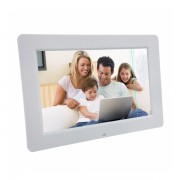 Rama foto digitala cu defect minor PS-DPF1308 TFT LCD de 13.3 inch cu telecomanda, alb