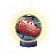 Puzzle 3D Ravensburger - Cars 3, 72 piese, cu LED (11818)