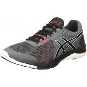 ASICS Men's Gel-Craze Tr 4 Carbon/Black/Prime Red Nordic Walking Shoes - 8 UK/India (42.5 EU)(9 US)