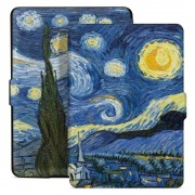 Husa Tech-Protect Smartcase Amazon Kindle Paperwhite 1/2/3 Starry Night