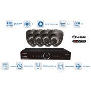 CCTV Kamerové systémy AHD - 4x kamera 1080P s 40m IR a DVR