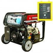 Generator De Curent Monofazat Senci, Sc-8000-Ats, 7 Kw, Benzina + Automatizare