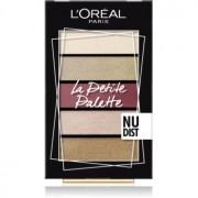 L'Oréal Paris La Petite Palette paleta de sombras de ojos tono Nudist 5 x 0,8 g