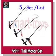 Generic v911 green : 5 Set Tail Motor Set for V911 V911-1 V911-pro V911-V2 RC Helicopter Spare Parts