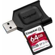 Card reader Kingston React PLUS + SD Reader 64GB Capacity