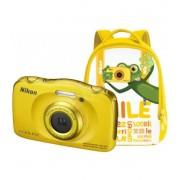 Nikon Family Kit Nikon Coolpix W100 Amarillo