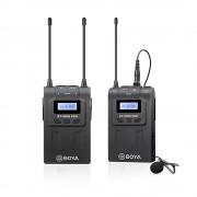 Boya BY-WM8 PRO-K1 Linie Wireless UHF cu Microfon Lavaliera (TX+RX)