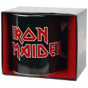 Iron Maiden Logo Mok wit