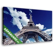 Eiffel- torony alulnézetből (40x25 cm, Vászonkép )