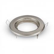 Optonica GU10/MR16/ beépítő keret / Fix / nikkel / OT5071