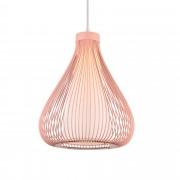 [lux.pro]® Декоративен дизайнерски пендел Miami 43 x 30 cm , Метал, Розов