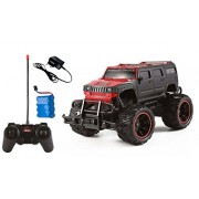 Magicwand 1:20 Scale Off-Road Monster Racing H2 Hummer Toy Car (Red & Black)