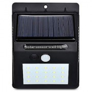 20 LED Weatherproof Wireless Security Solar Light Motion Sensor Wall Light and Lighting for Wall Patio Garden Landsca