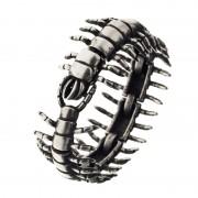 Ametallo Bracelets Exotic Mens Scarafaggio 0053bk Stainless Steel 316l