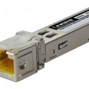 Gigabit Ethernet 1000 Base-T Mini-GBIC SFP Transceiver - Cupru RJ45