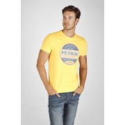 Petrol T-shirt - Geel