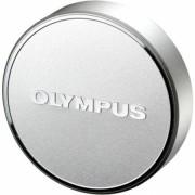 Capac obiectiv Olympus LC-48B pentru M.Zuiko Digital 17mm 1:1.8 Argintiu
