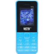 MTR MT 230 MINI DUAL SIM MOBILE PHONE IN BLACK AND BLUE COLOR