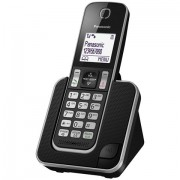 Telefon Panasonic KX-TGD310FXB, crna, Bežični, 24mj