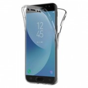 Husa IMPORTGSM pentru Samsung Galaxy J7 2017 J730 Silicon Fata/Spate 360 Ultra Slim Transparenta