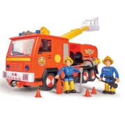Simba Toy Fire Truck Jupiter 2.0 28 cm Fireman Sam Red and Yellow
