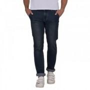 Stylox Men's Green & Blue Slim Fit Jeans