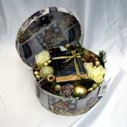 "''Christmas box"" cu parfum"