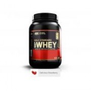 Proteina din zer on gold standard 100% whey delicious strawberry 908gr OPTIMUM NUTRITION