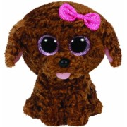 Jucarie Plus 24 cm Beanie Boos Curly brown dog TY