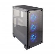 Gabinete Corsair Crystal 460X RGB 3 Ventiladores USB3 CC-9011101-WW