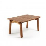 Kave Home Mesa extensível retangular Hemming 160 (210) x 100 cm