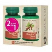 Respiral forte 1+1 gratis 60+60cpr DACIA PLANT
